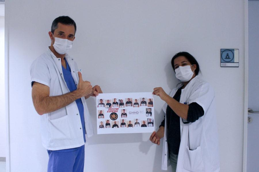 Movember : hôpital public et club de rugby ensemble pour la santé masculine