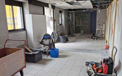 Modernisation de l'accueil des urgences du CHPB : travaux en cours !